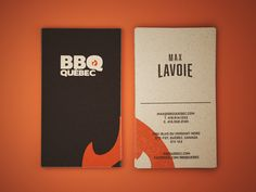 smoke bbq business cards | Smoke bbq and Business cards