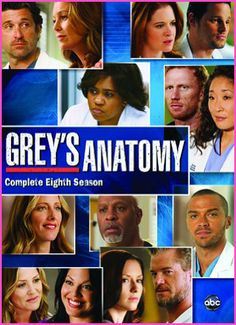 """""""Grey's Anatomy: The Complete Eighth Season"""" Available On DVD"""