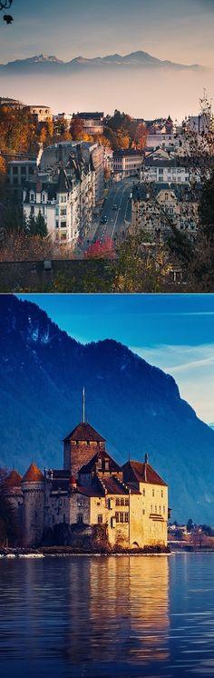 Travel Lust: Lausanne in Switzerland.