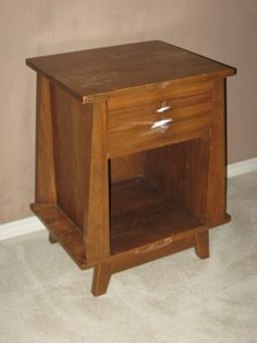 Before end table from a second hand store.