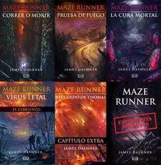maze runner correr o morir saga completa 6 libros epub y pdf cuestan 5000