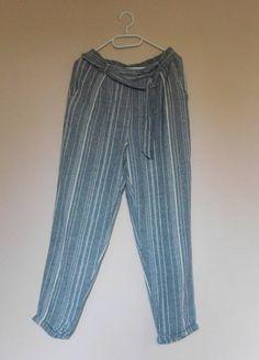 Kup mój przedmiot na #vintedpl http://www.vinted.pl/damska-odziez/spodnie-inne/15957229-new-look-spodnie-letnie-len-36