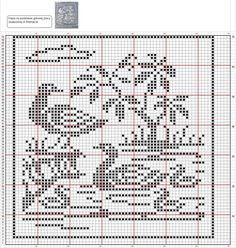 Free Cross Stitch Charts, Filet Crochet Charts, Cross Stitch Bird, Cross Stitch Animals, Bobble Stitch Crochet, Cross Stitch Alphabet Patterns, Baby Booties Knitting Pattern, Wedding Cross Stitch, Fillet Crochet