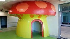 Polystyrene Mushroom Mushroom, Display, Shapes, Sunshine Coast, Imagination, Fabric, University, Colorful, Amazing