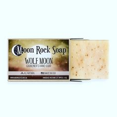 Moon Rock, Wolf Moon, Soaps, How To Make, Handmade, Hand Soaps, Hand Made, Soap, Handarbeit