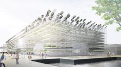 BCHO architects' proposal for the korean pavilion at the 2015 expo milan