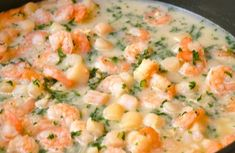 Shrimp and Scallop Pasta in Lemon Wine Sauce