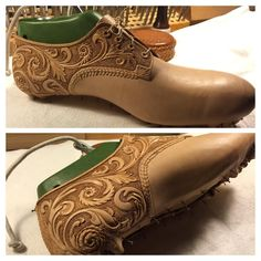 carved leather shoes