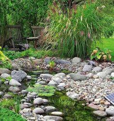 15 идей благоустройства маленького сада