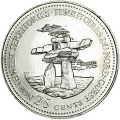 The complete database listed source of Canadian circulation currency coins for the past, present and future. Old Coins, Rare Coins, Canadian Things, Foreign Coins, Coins Worth Money, Coin Worth, Canada Eh, Canada Post, Northwest Territories