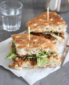 Photo by Lekker en Simpel Best Lunch Recipes, Snack Recipes, Healthy Recipes, Snacks, Brunch, Tapas, Buffet, High Tea, Diy Food