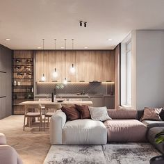 New Living Room Colors Small Couch Ideas Living Room White, White Rooms, Living Room Colors, Living Room Grey, Small Living Rooms, Home Living Room, Living Room Designs, Living Room Decor, Kitchen Living