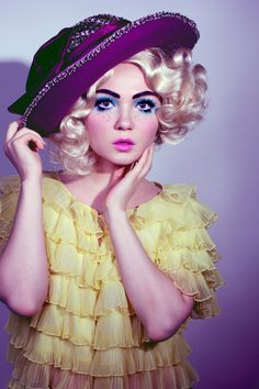 I love love love photoshoots from Doe Deere & Lime Crime Makeup!