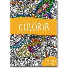 Arte Para Colorir - Livro De Colorir