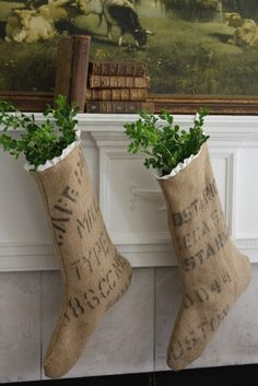 Make these for my front door.  Also additional burlap projects.