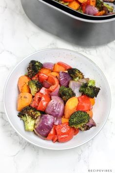 Air Fryer Vegetables | Air Fryer Roasted Vegetables - Recipe Vibes Air Fried Vegetable Recipes, Vegetable Prep, Turkey Seasoning, Vegetable Seasoning, Air Fryer Dinner Recipes, Air Fryer Recipes, Steamed Vegetables, Healthy Side Dishes, Stuffed Peppers