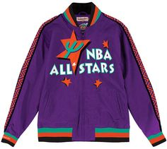 46e6047cc53 Mitchell   Ness Men s Nba 1995 All Star Warm Up Jacket Sports Fan Shop
