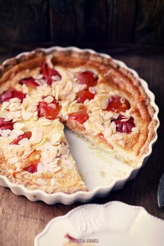 Polish Desserts, Polish Recipes, Delicious Desserts, Dessert Recipes, Yummy Food, Shortcrust Pastry, Coffee Cake, Baked Goods, Sweet Tooth
