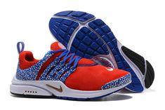 ee55dc55906 Cool Nike Air Presto QS Gold Safari Red Royal Blue 886043 600 Running Shoe