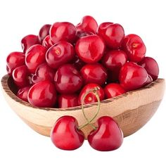 cherry berries in wooden bowl isolated on white background cutout Gout Remedies, Cold Home Remedies, Natural Remedies, B Food, Hemp Protein, Superfood Recipes, Going Vegetarian, Detox Your Body, Food Science