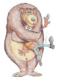 """El """"abrazo de oso"""" puede ahogar."""
