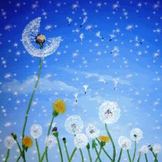 gif flowers and breeze gif Corazones Gif, Gifs Lindos, Carl Larsson, Dandelion Wish, Nest Design, Spring Pictures, Gif Animé, Gif Pic, Animated Gif