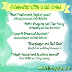 Beloved Baby Names: Celebrities With Irish Twins Celebrity Baby Names, Celebrity Babies, Kroy Biermann, Irish Twins, Sibling, Celebrities, Brother, Celebs, Foreign Celebrities