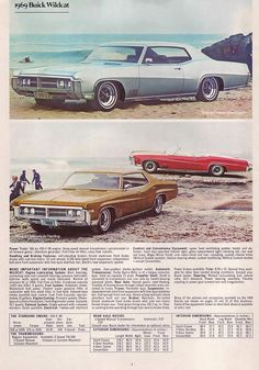 1969 Buick Wildcat Advertisement Photo Picture