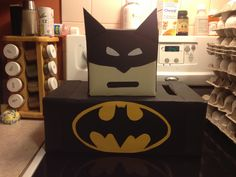 Batman valentines box I made for my 5 year old!!