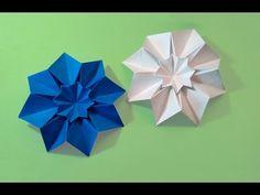 Origami Star Blessilda (designer Alphonsus Nonog). Ideas 4 room decoration - YouTube