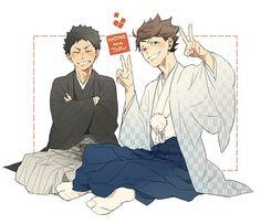 Oikawa & Iwaizumi | Haikyuu!!