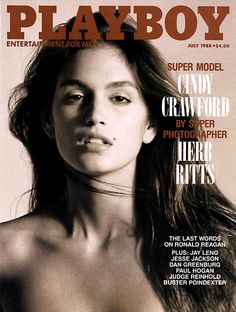 See our roundup of six supermodels covering Playboy through out the years. From cindy Crawford to Naomi Campbell, take a look at these Supers in action. Cindy Crawford, Playboy, Top Models, Most Beautiful Women, Beautiful People, Gq, Herb Ritts, Linda Evangelista, Claudia Schiffer
