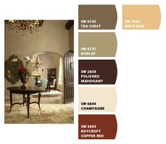 Warm Color Palette, Chip It! By Sherwin William Part 74