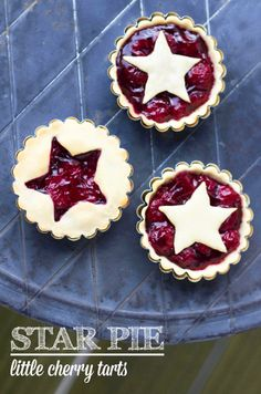 Cherry Star Pies (from TLT)