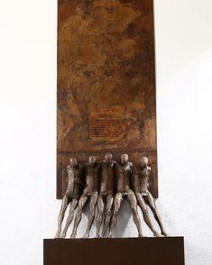 Max Leiva @esculturasmaxleiva - 5 Hermanos (bronze) 118 cm. [close up] #maxleiva