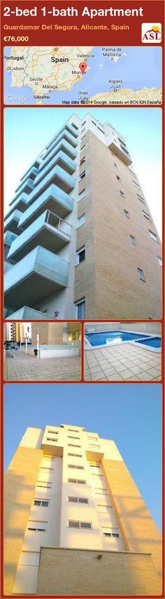 2-bed 1-bath Apartment in Guardamar Del Segura, Alicante, Spain ►€76,000 #PropertyForSaleInSpain
