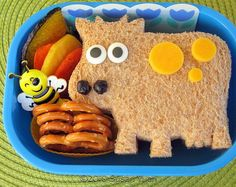 Cute lunch idea