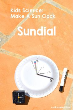 Sundial Science Project | Shadow Science | STEM