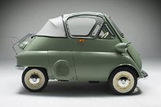 1955 BMW Isetta @Kristen Henry @Elisa Henry - your Grandad had one of these I think.