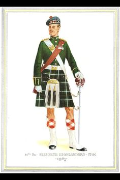 Seaforth Highlanders officer