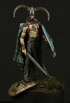 Celtic Chieftain III Century B.C.