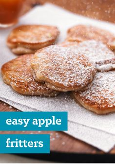 Easy Apple Fritters – This delicious breakfast time recipe for apple fritters are truly a cinch to make, but that won't stop your family from feeling like the morning just got a little extra-special.