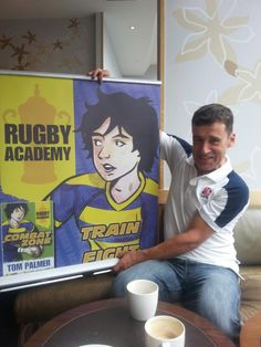 @tompalmerauthor @BarringtonStoke Marvellous to meet the charming & talented Tom Palmer 2day to talk rugby and books.