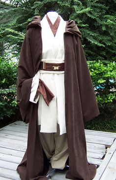 ObiWan Jedi Costume by space_cadet via Flickr & jedi costume | How to Make a Jedi Robe | star wars | Pinterest ...
