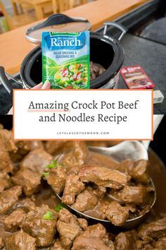 This 5-ingredient crockpot beef and noodles recipe makes dinner so easy. Seriously the best beef stew ever. Your family will be BEGGING for more. Best Beef Stew Ever, Healthy Kids, Healthy Living, Homemade Egg Noodles, Sunday Dinner Recipes, Slow Cooked Beef, Family Kitchen, Suppers, Slow Cooker Recipes