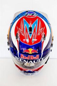 Helmet Design Max Verstappen Singapore GP 2015