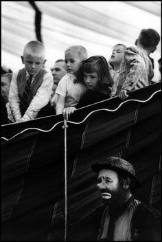 © Bruce Davidson/Magnum Photos USA. New Jersey. 1958. Beatty-Cole-Hamid Circus at Palisades Amusement Park.