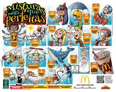 Mixing Things - McDonald's Tray Liner on Behance