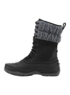 Looks warm and dry !  Need these !  The North Face Women's Shoes Winter Boots WOMEN'S SHELLISTA LACE MID