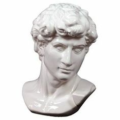 "Pairing classic elegance with contemporary appeal, this ceramic bust decor brings a museum-worthy touch to your home.   Product: Bust decorConstruction Material: CeramicColor: WhiteDimensions: 12"" H x 8.5"" W x 7"" D"
